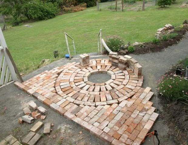 Brick Landscaping Ideas To Increase The Beauty Of Homes Outdoor Landschaftsbau Ideen Ziegelsteine Garten Landschaftsbau