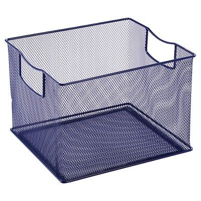 11 X 13 X 14 Wire Decorative Toy Storage Bin Navy Pillowfort Toy Storage Bins Toy Storage Decorative Storage Bins