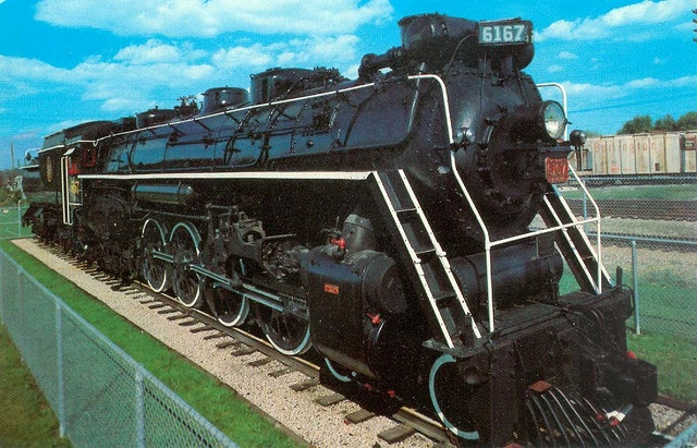 CNR # 6167 at Guelph, Ontario by Wrecksdale Wreck, via Flickr