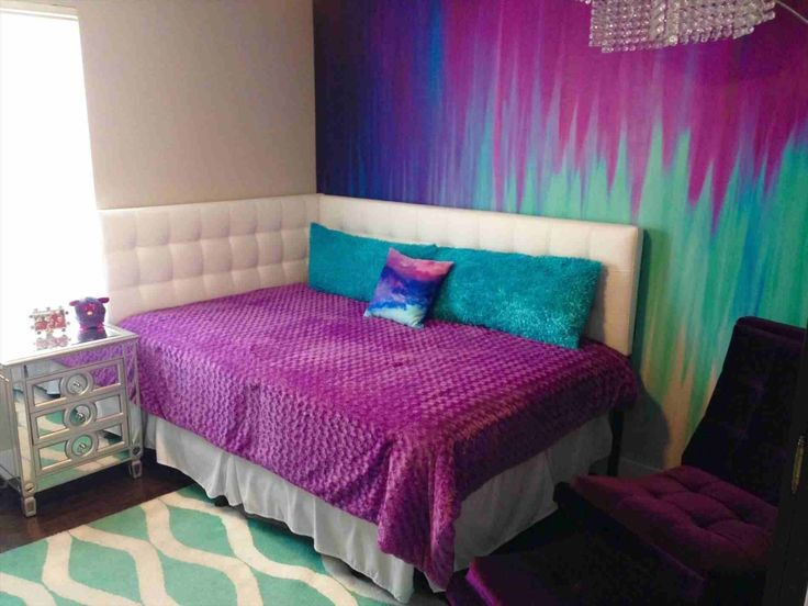 Purple Bedroom For Girls – bedroom pink and purple girls room with light lavende…