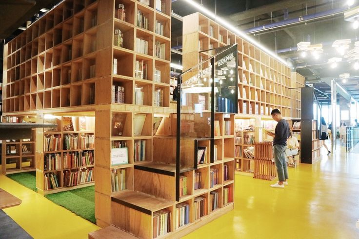 """myirmaygination: """" Bookpark in Blue Square, Itaewon, Seoul, South Korea To get here: get off at Hangangjin Station (subway), exit 2. This place is a haven for all book lovers! They sell both new and..."""