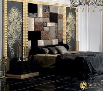 Stylowa sypialnia Fortune