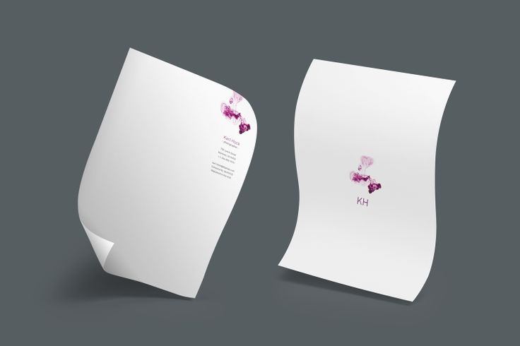 Design: Dropped Ink Designer: Rob Wilson Product: Letterheads