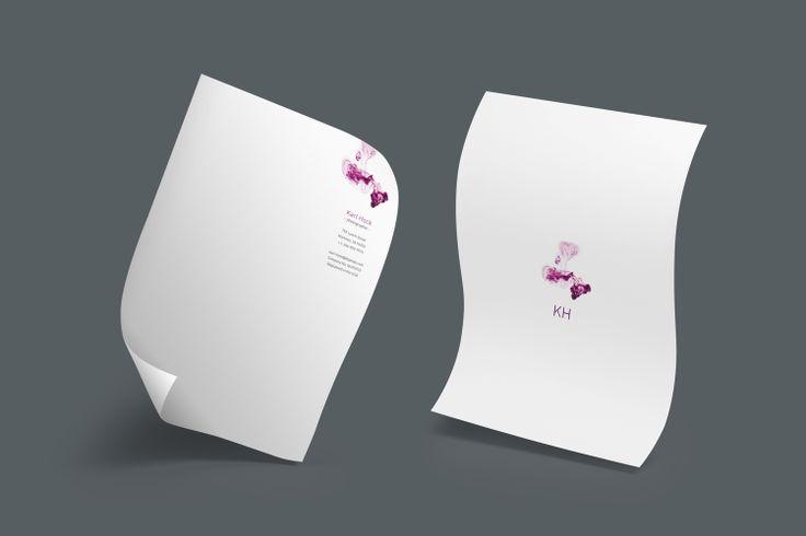 Design: Dropped Ink Designer: Rob Wilson Product: Letterheads