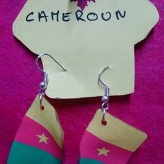 Special coupe du monde bresil 2014 : bo  drapeau cameroun