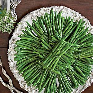 Green Beans with Hollandaise Sauce | MyRecipes.com