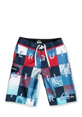 Quiksilver   Check Remix Boardshorts Boys 8-20