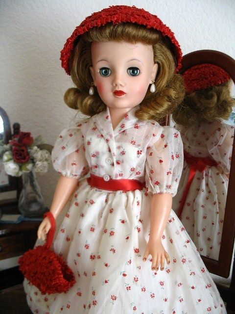 34 Best Vintage Kitchen Decor Ideas And Designs For 2019: 34 Best Images About IDEAL REVLON DOLLS From The 1950's On