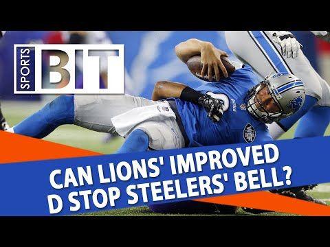 Week 8 #NFLPicks | #Steelers vs #Lions Sunday Night Football | Sports BIT