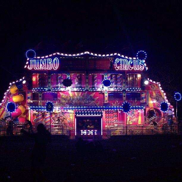 Jumbo circus!! Electric Picnic festival Stradbally, Ireland