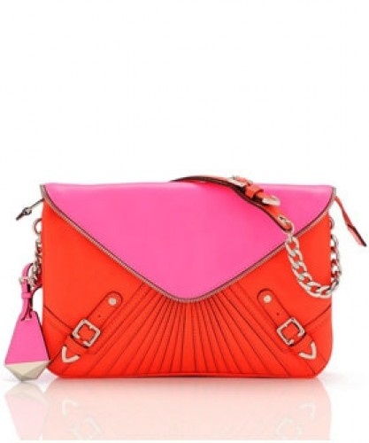 Orange and Fuschia summer bag