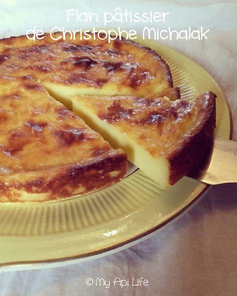 flan pâtissier Michalak
