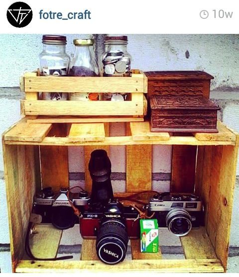 vintage with pallets