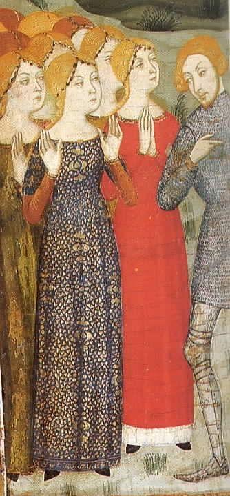 c.1385  St. Stephen Altarpiece  Church of Santa Maria de Gualter (Noguera)  Musuem of Catalan Art, Barcelona
