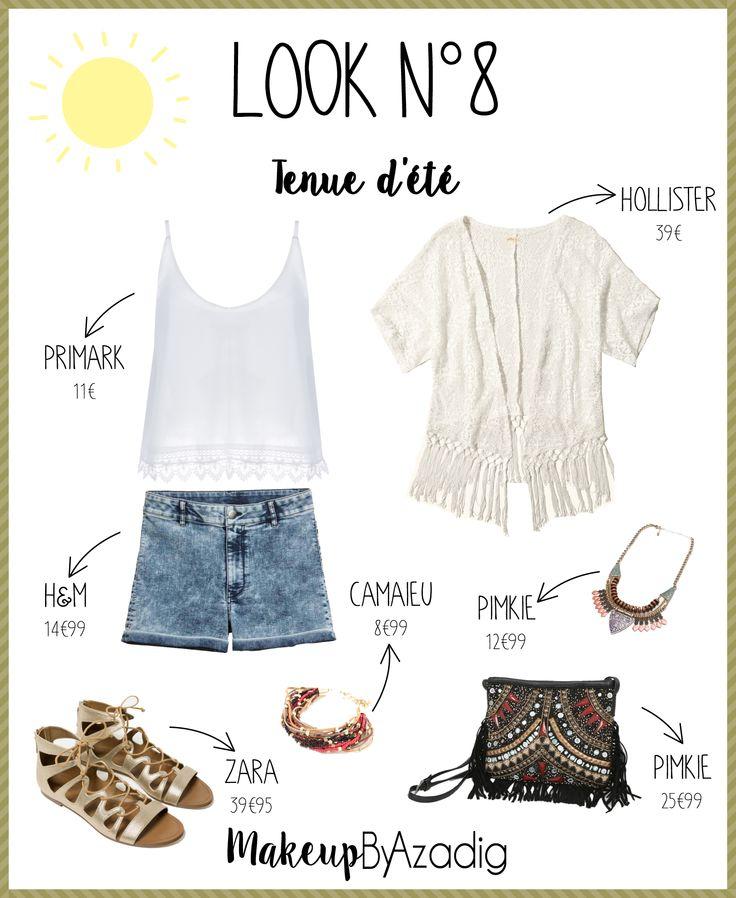 Lookbook #8 - Tenue d'été