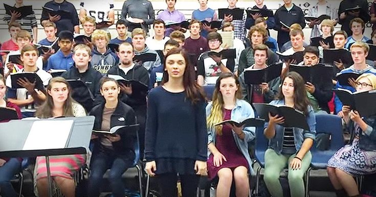 High school students from the Canby Choir came together for those suffering after the Oregon college shooting. Their chilling rendition of 'Be Still My Soul' will truly touch you to the core. Please continue to pray for this community.