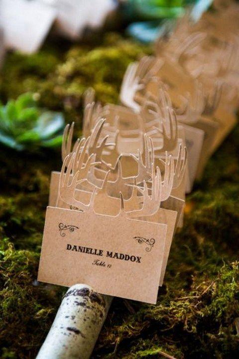 カードにひと工夫♡冬の結婚式のエスコートカード・席札を集めました♡