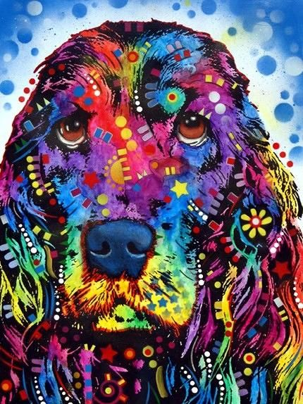 Cocker Spaniel Painting by Dean Russo - Cocker Spaniel Fine Art Prints and Posters for Sale