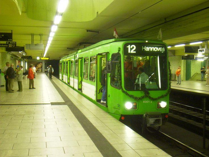 Stadtbahn Hannover Motrice TW 6001