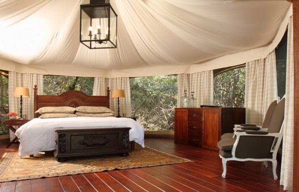 "Thanda Private Game Reserve is a property that recalls the film ""Out of Africa"" and living luxuriously in the outdoors."