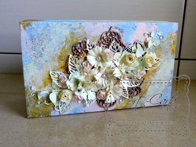 Art-Carta : Pudełko po herbacie