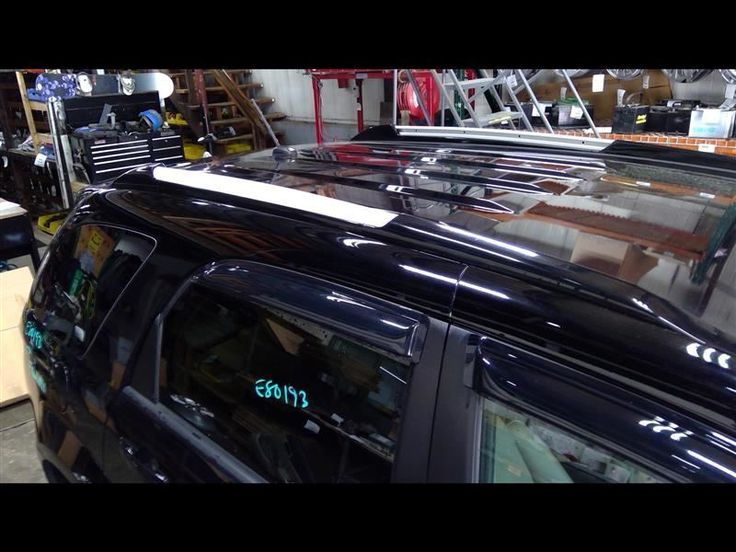 Luggage Roof Rack Right Rail Black Fits 0509 EQUINOX