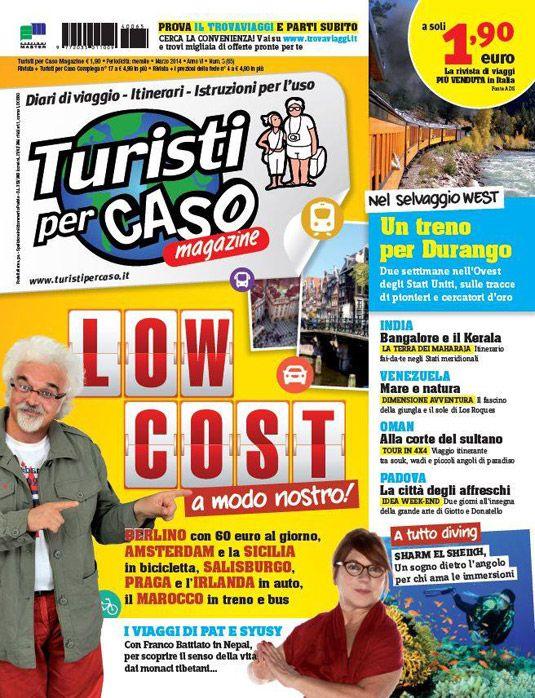 Europa low cost con Turisti Per Caso Magazine di marzo - BookingLetters