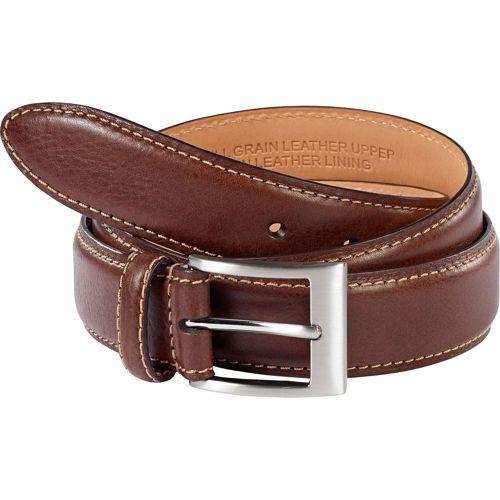 kirkland signature s leather belt brown menswear