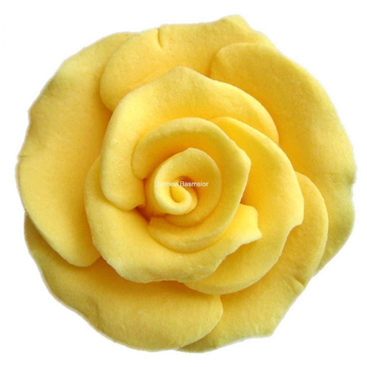 Trandafiri mici 42 buc galben