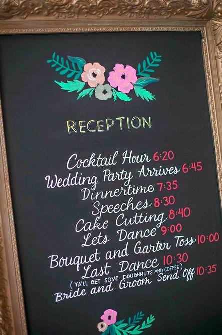 Best 25+ Wedding reception program ideas on Pinterest   Thank you ...