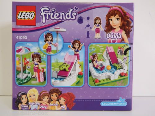 LEGO-FRIENDS-Oliva-039-s-Garden-Pool-41090-Ages-5-12-years-82-piece-set