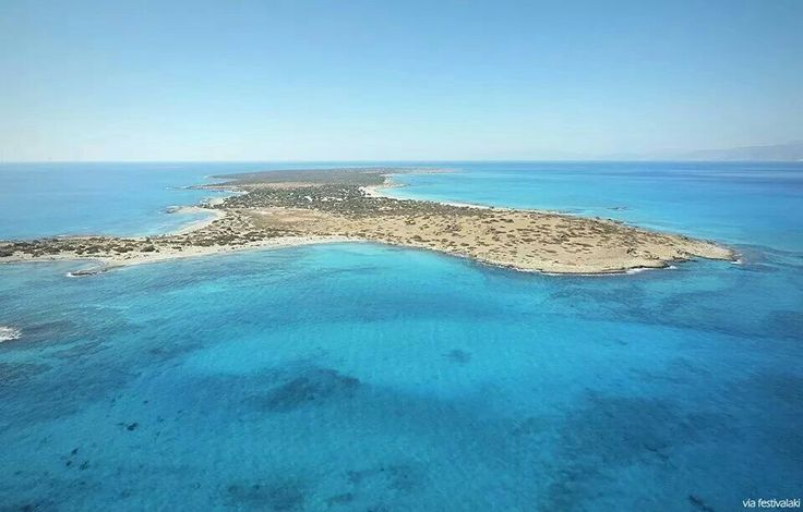 Chrissi island, SE side of Crete, Greece