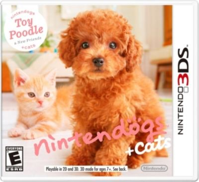 Nintendogs + Cats: Toy Poodle - 3DS - Nintendo DS Games $38.29
