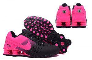 d0b6c56aee35 Nike Shox Deliver Hyper Pink Black NZ Women s Running Shoes ...