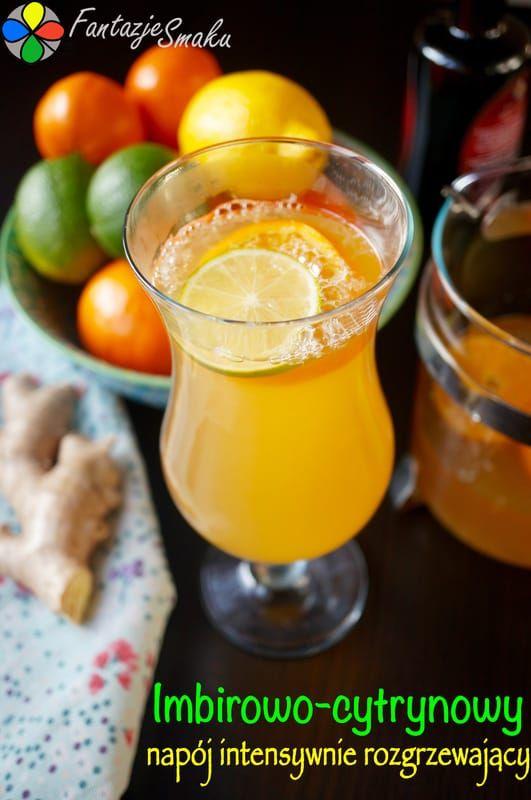 Imbirowo-cytrynowy napój intensywnie rozgrzewający http://fantazjesmaku.weebly.com/blog-kulinarny/imbirowo-cytrynowy-napoj-intensywnie-rozgrzewajacy