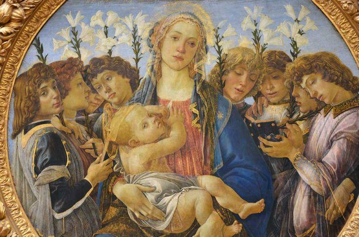 Tondo Raczynski, Botticelli, Gemaldegalerie, Berlin