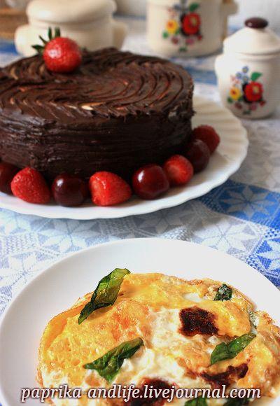 """Моя венгерская кухня. Торт """"Дунайская волна"""" / Duna hullám torta - О тёплых булочках и не только"""
