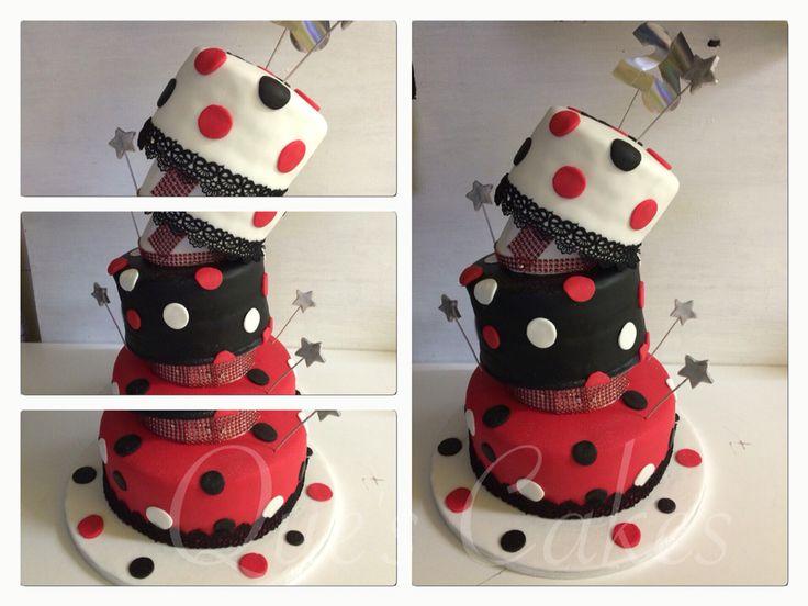 Tilting cake