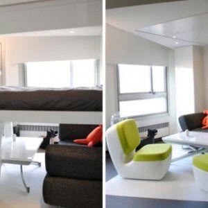 17 meilleures id es propos de lit escamotable plafond for Lits escamotables plafond