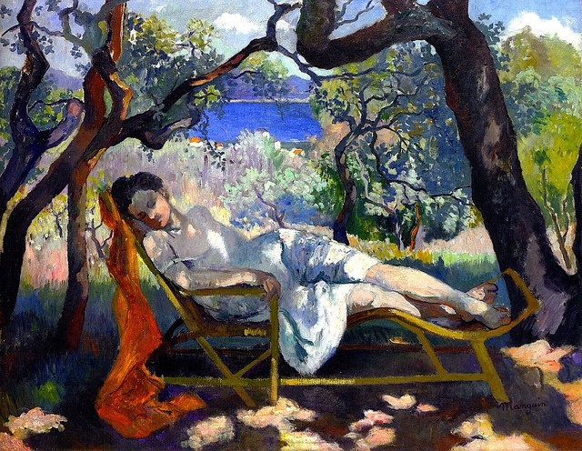 The Nap (Henri Manguin - 1905) by BoFransson, via Flickr