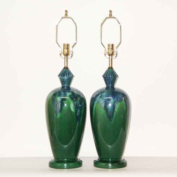 Royal Haeger lamps on Etsy