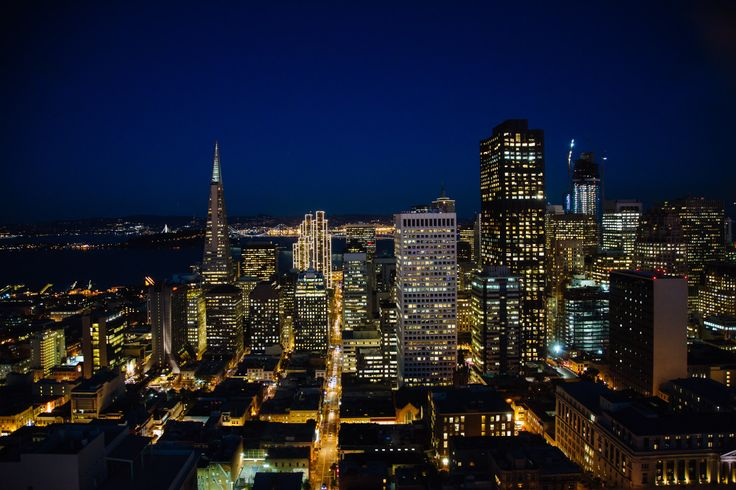 Nightlife in the beautiful San Francisco #Fairmont #SF #Travel #Nightlife