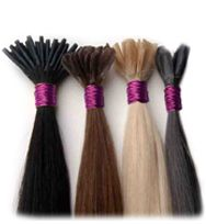 Our pre bonded hair extensions are 100% real human hair extensions