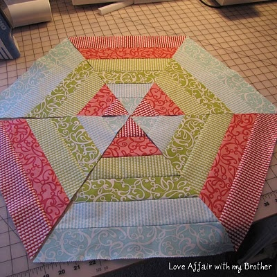 17 Best Images About 60 Degree Angle Quilt Blocks On