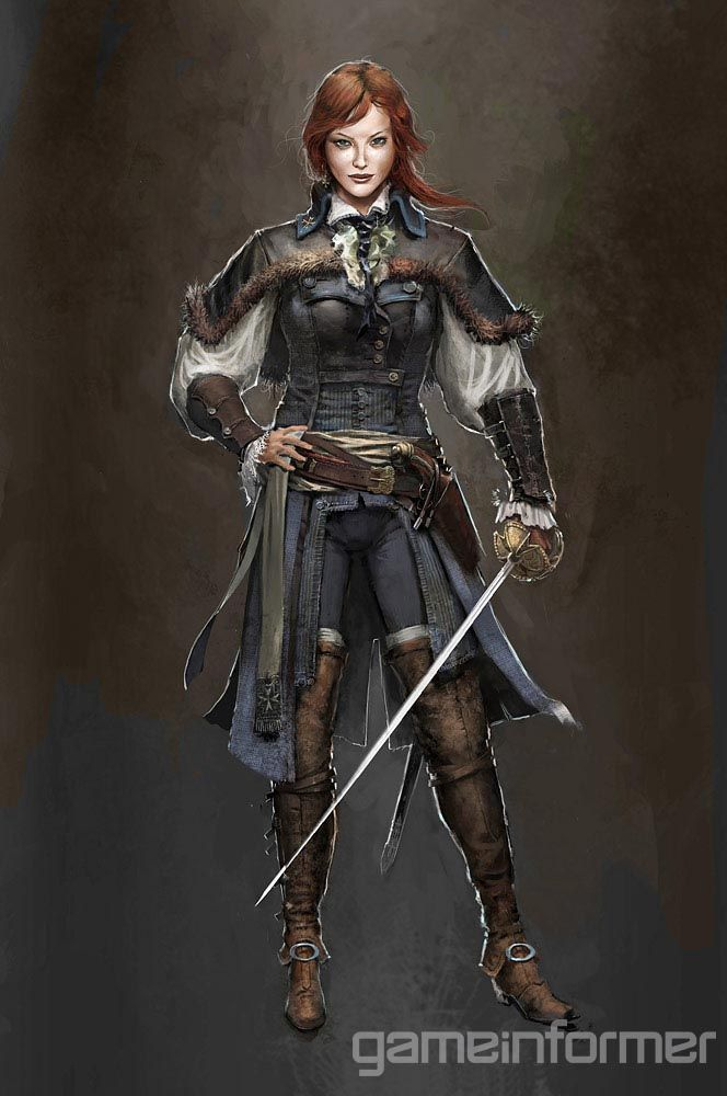 Exploring The Concept Art Of Assassin's Creed Unity - Features - www.GameInformer.com  (see also http://assassinscreed.wikia.com/wiki/%C3%89lise_de_la_Serre)
