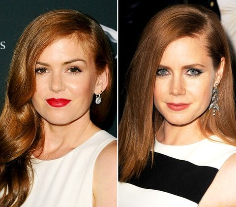 Isla Fisher and Amy Adams share some very similar traits.
