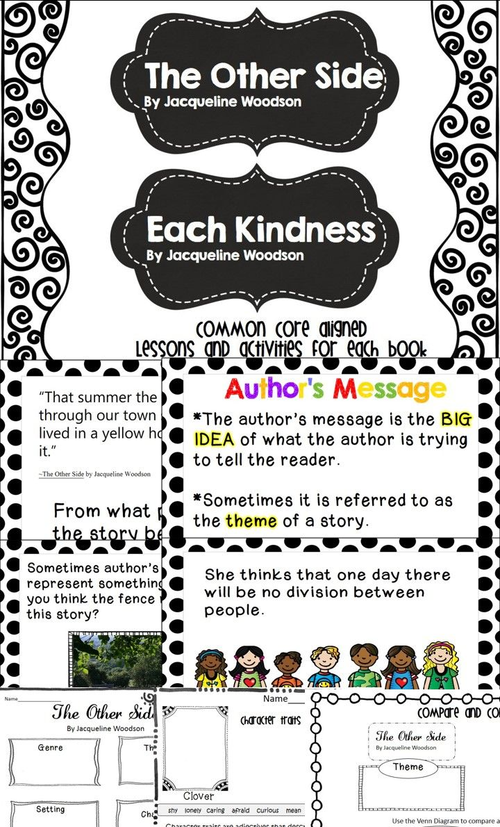 each kindness by jacqueline woodson writing activities