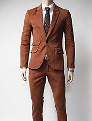 mannen Koreaanse stijl slanke business casual pak – EUR € 53.11