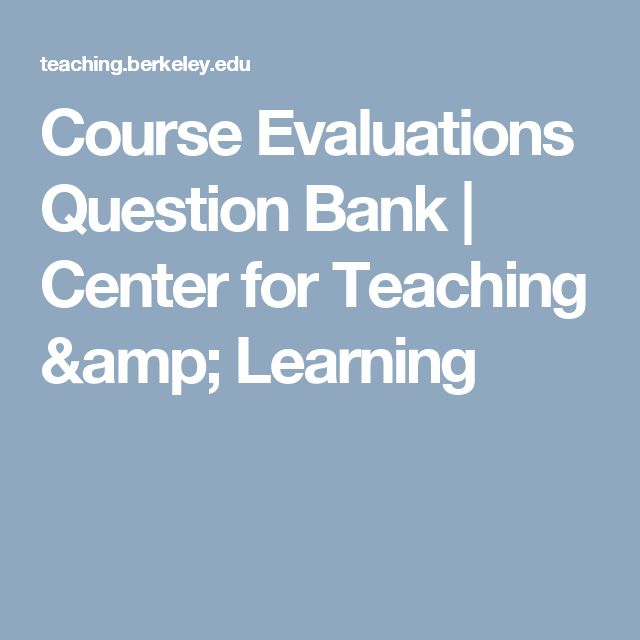 The  Best Course Evaluation Ideas On   E Learning
