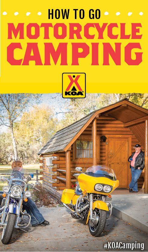 How to go Motorcycle Camping